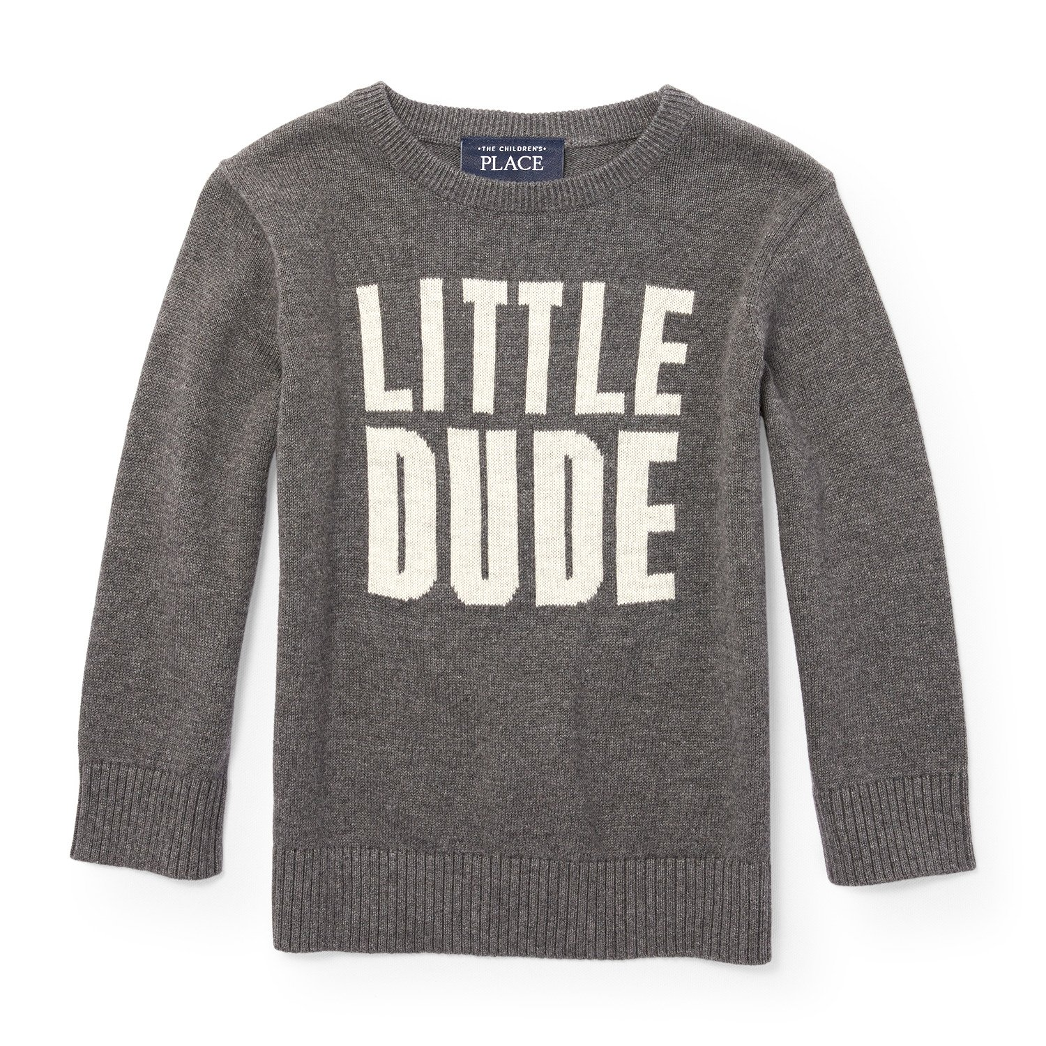 The Children's Place Boys' Intarsia Sweater, H/T Eclipse 87551, 18-24MONTH