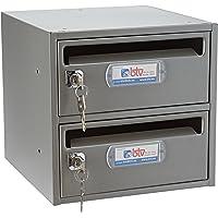 Btv moncayo - Conjunto buzon/es 25 250mm titanio/titanio(2u)