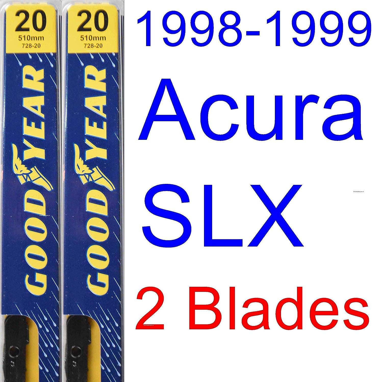 Amazon.com: 1998-1999 Acura SLX Wiper Blade (Driver) (Goodyear Wiper  Blades-Premium): Automotive