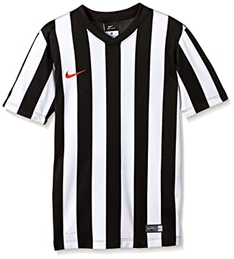 25aeb30b2 Nike Short Sleeve Top Jersey Ss Y Striped Division: Amazon.co.uk: Clothing