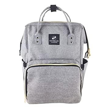 c870d4cafe475 Tot Ready: Diaper Bag Backpack- Multi-Function Waterproof Maternity Nappy  Bags for Travel