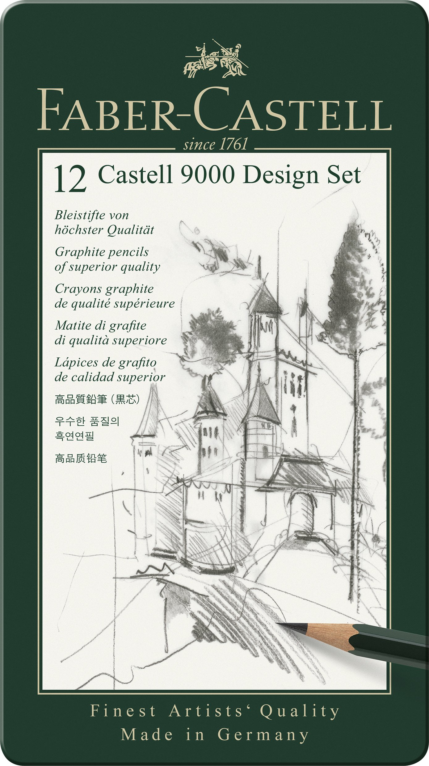Faber Castell 9000 Design Pencil FC119064 Pack of 12