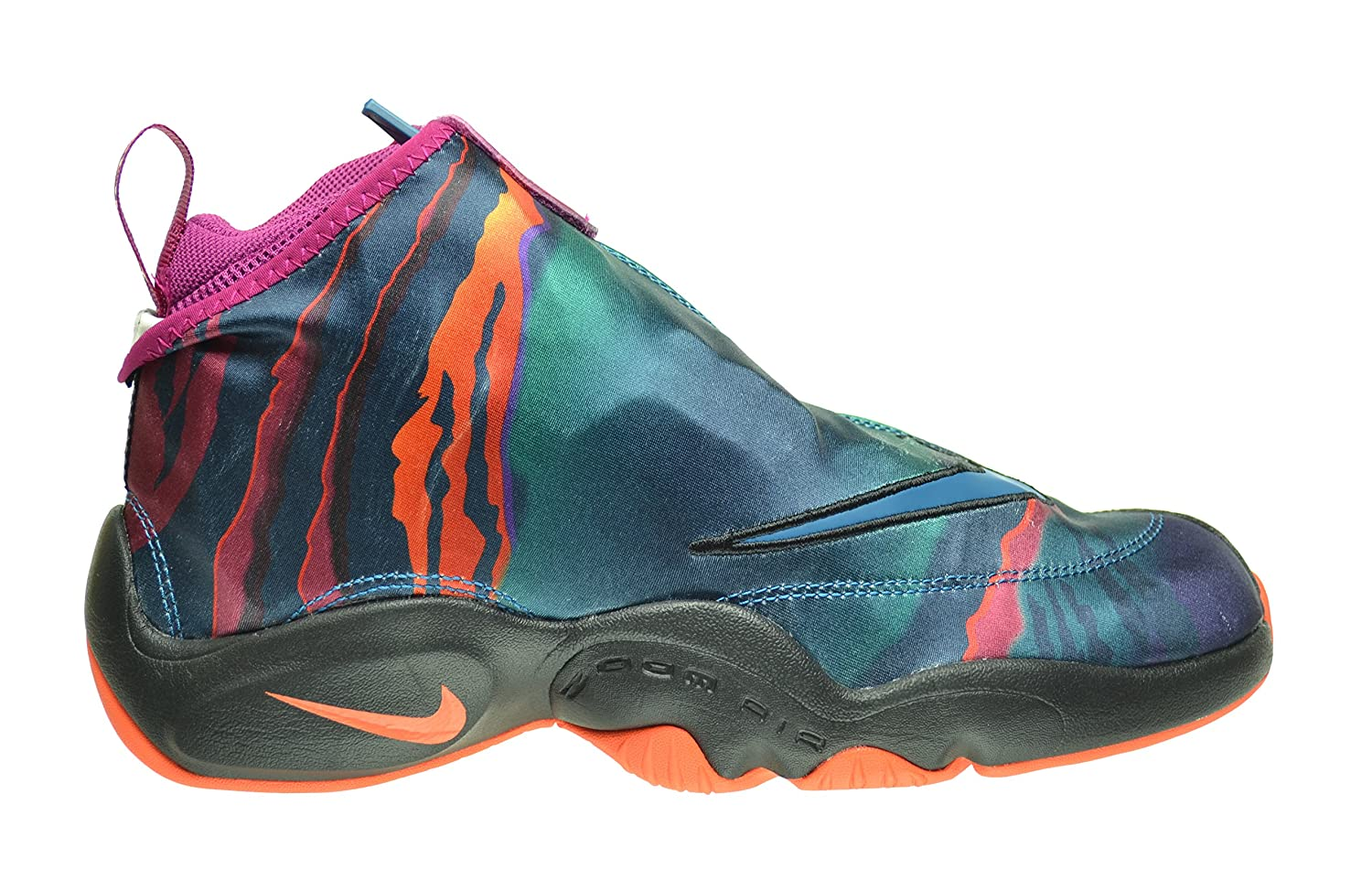 Amazon.com | Nike Air Zoom Flight The Glove Premium Men's Shoes Green Abyss/ Black-Bright Magnet-Turf Orange 631406-300 (9 D(M) US) | Basketball