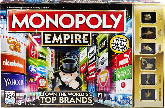 Amazon.com: Juego Monopoly Empire: Hasbro: Toys & Games