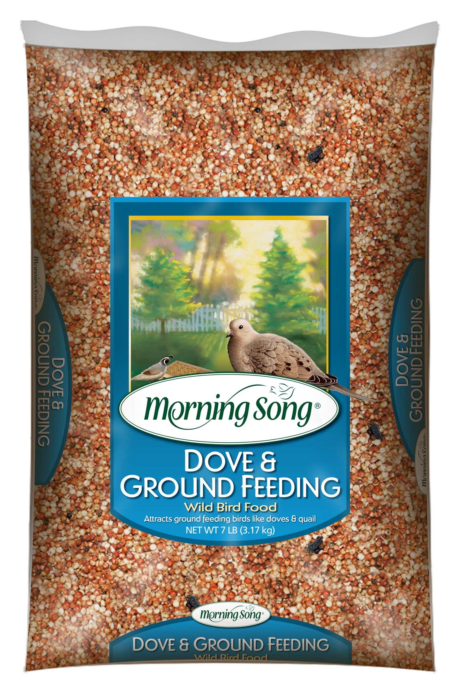 Morning Song 11974 Dove and Ground Feeding Wild Bird Food, 7-Pound by Morning Song