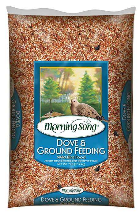 Morning Song 11974 Dove and Ground Feeding Wild Bird Food, 7-Pound