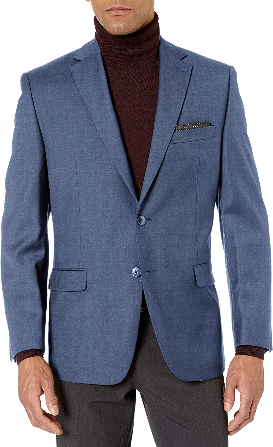 Tommy Hilfiger Mens Big /& Tall Modern Fit Suit Separates with Stretch-Custom Jacket /& Pant Size Selection