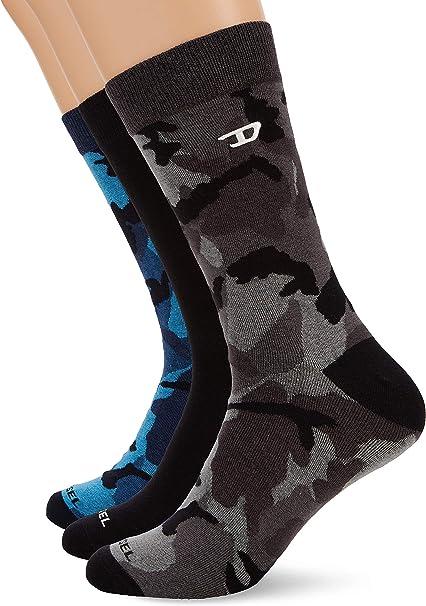 Diesel Mens Skm-ray-threepack Socks 3pack