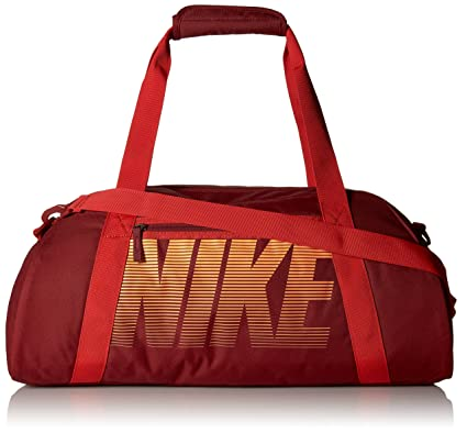 NIKE GYM CLUB WOMENS TRAINING DUFFEL BAG-Team Red/UniversityRed/Bright Citrus