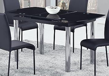 Amazon.com: Global Furniture - Mesa de comedor, color blanco ...