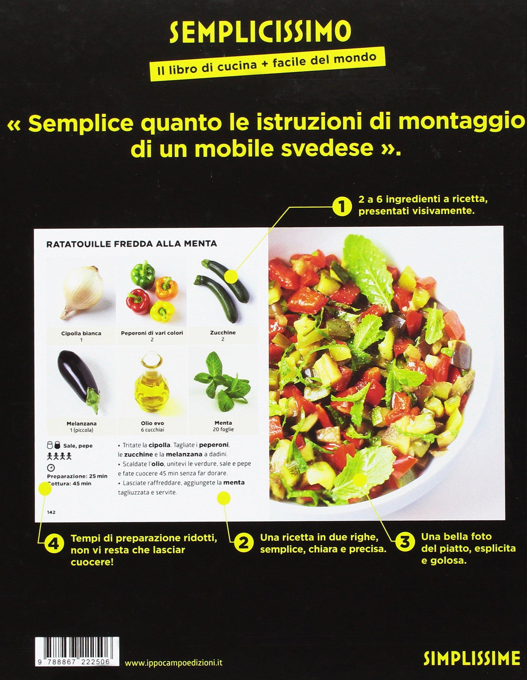 Semplicissimo. Il libro di cucina + facile del mondo: Amazon.co.uk ...