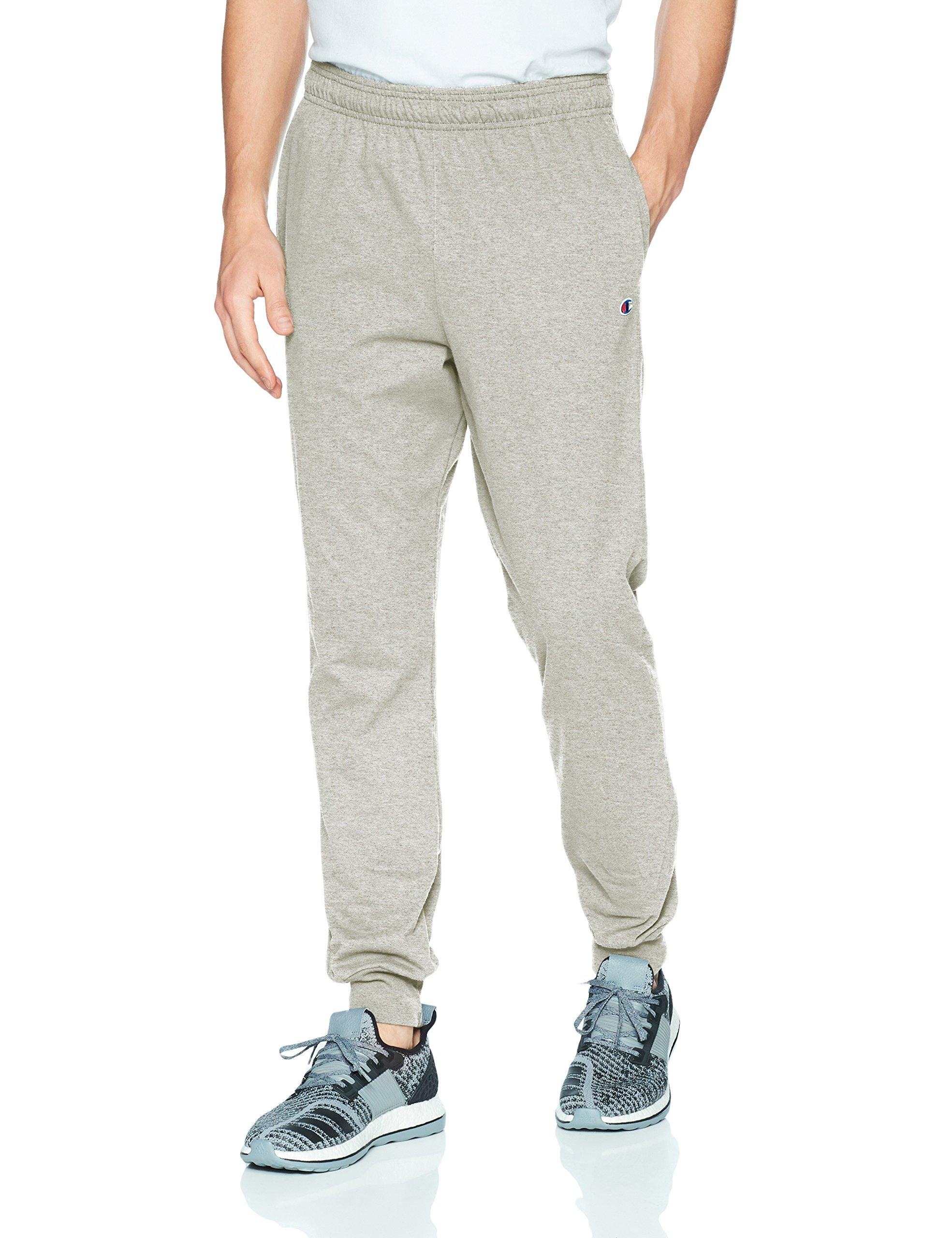Champion Men's Jersey Jogger, Oxford Gray, S by Champion