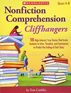 Amazon hi lo nonfiction passages for struggling readers grades nonfiction comprehension cliffhangers 15 high interest true stories that invite students to infer fandeluxe