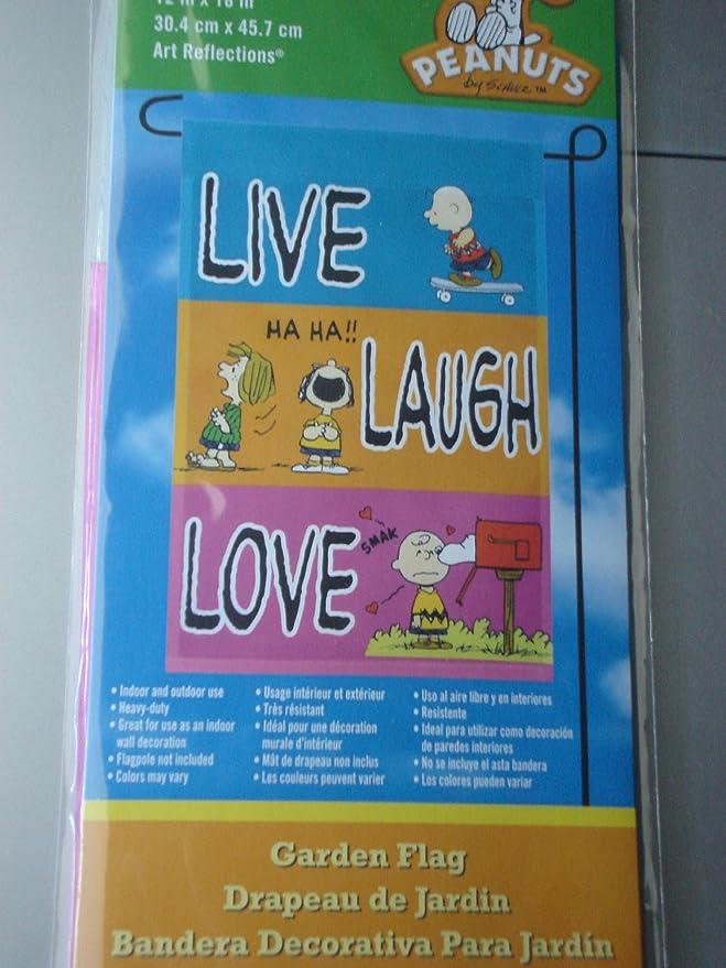 Amazon.com: Snoopy y la bandera Peanuts Gang Live ~ Laugh ...
