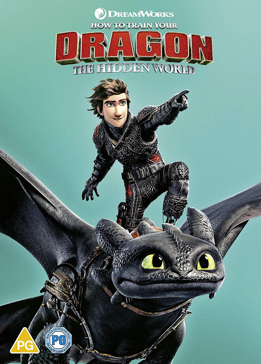 Amazon Com How To Train Your Dragon The Hidden World Dvd Digital Download 2019 Usa Non Compatible Product Region 2 Movies Tv