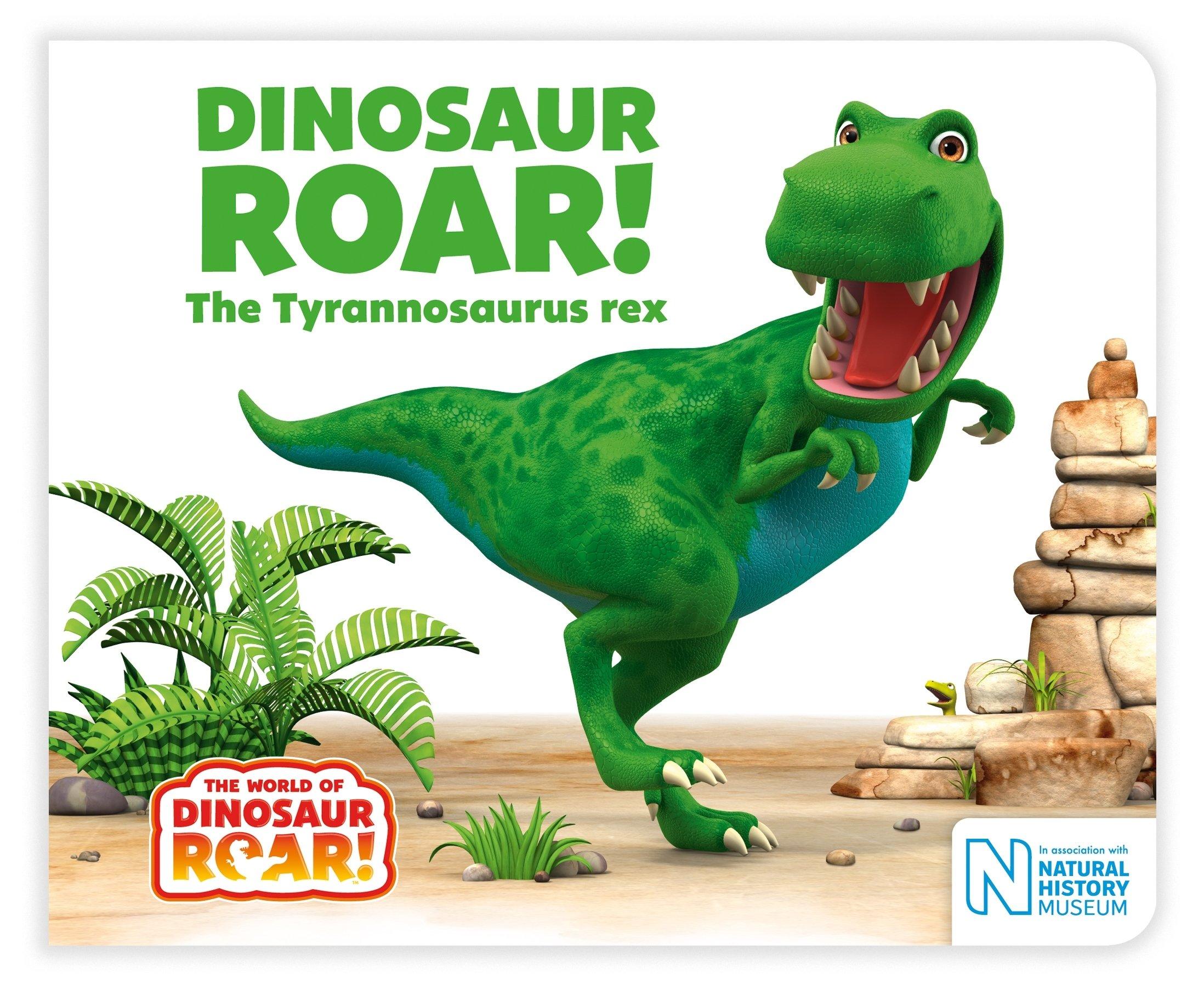 Dinosaur Roar! The Tyrannosaurus rex The World of Dinosaur Roar!:  Amazon.co.uk: Willis, Jeanne, Peter Curtis: Books