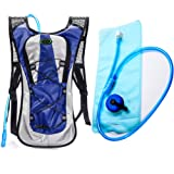 Amazon Price History for:Hydration Backpack--Juboury Water Rucksack Bladder Bag for Running Hiking Cycling and Any Other Outdoor Sports with Free 2L TPU Hydration Bladder