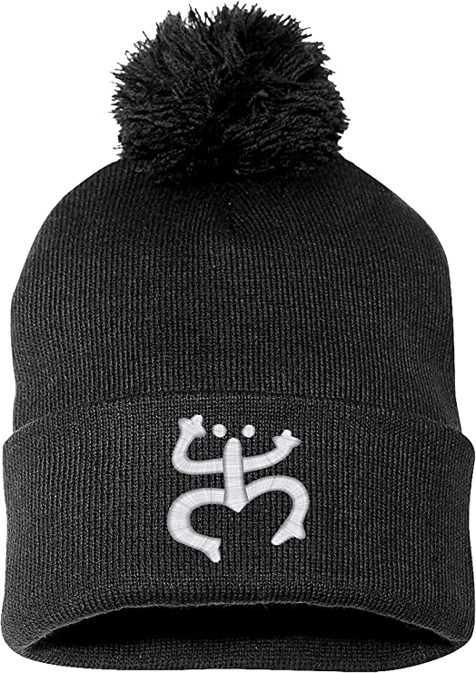Warm Winter Beanie Embroidered Puerto Rico Taino Frog