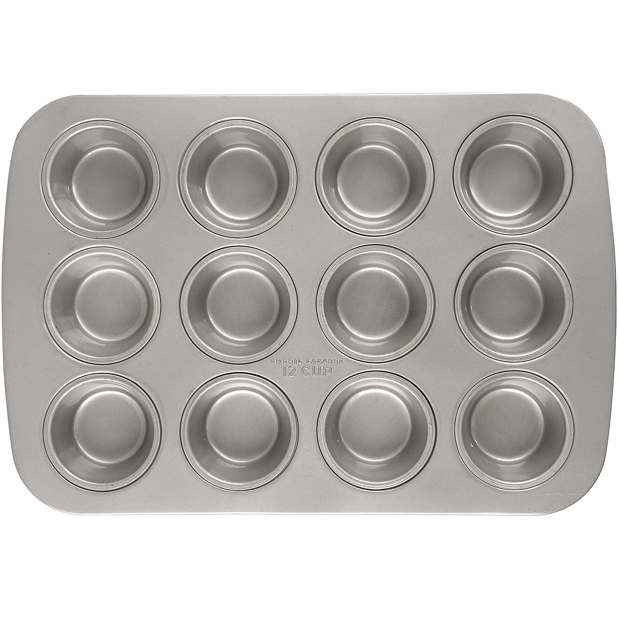 Emeril Lagasse 62675 Aluminized Steel Nonstick 12-Cup Muffin Pan by Emeril Lagasse (Image #2)