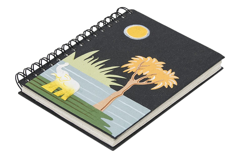 Mr. Ellie Pooh Black Elephant Journal (LNB-Black)