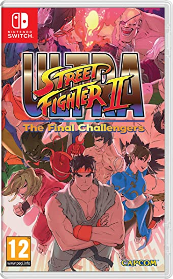 Ultra Street Fighter II: The Final Challengers: Nintendo: Amazon ...