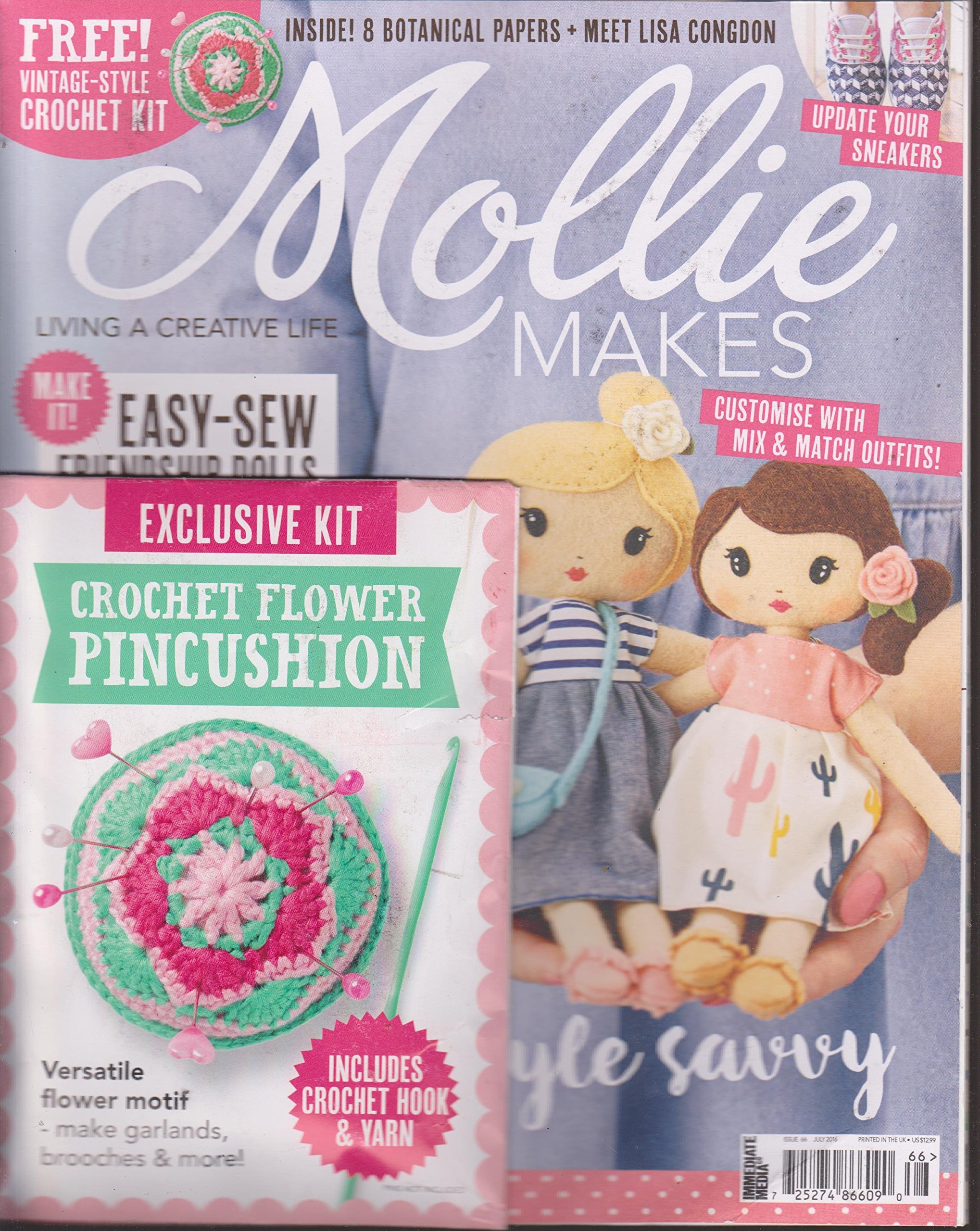 Download Mollie Makes July 2016 pdf epub