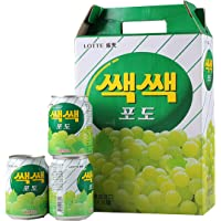 Lotte Grape Drink, 238ml (Pack of 12)
