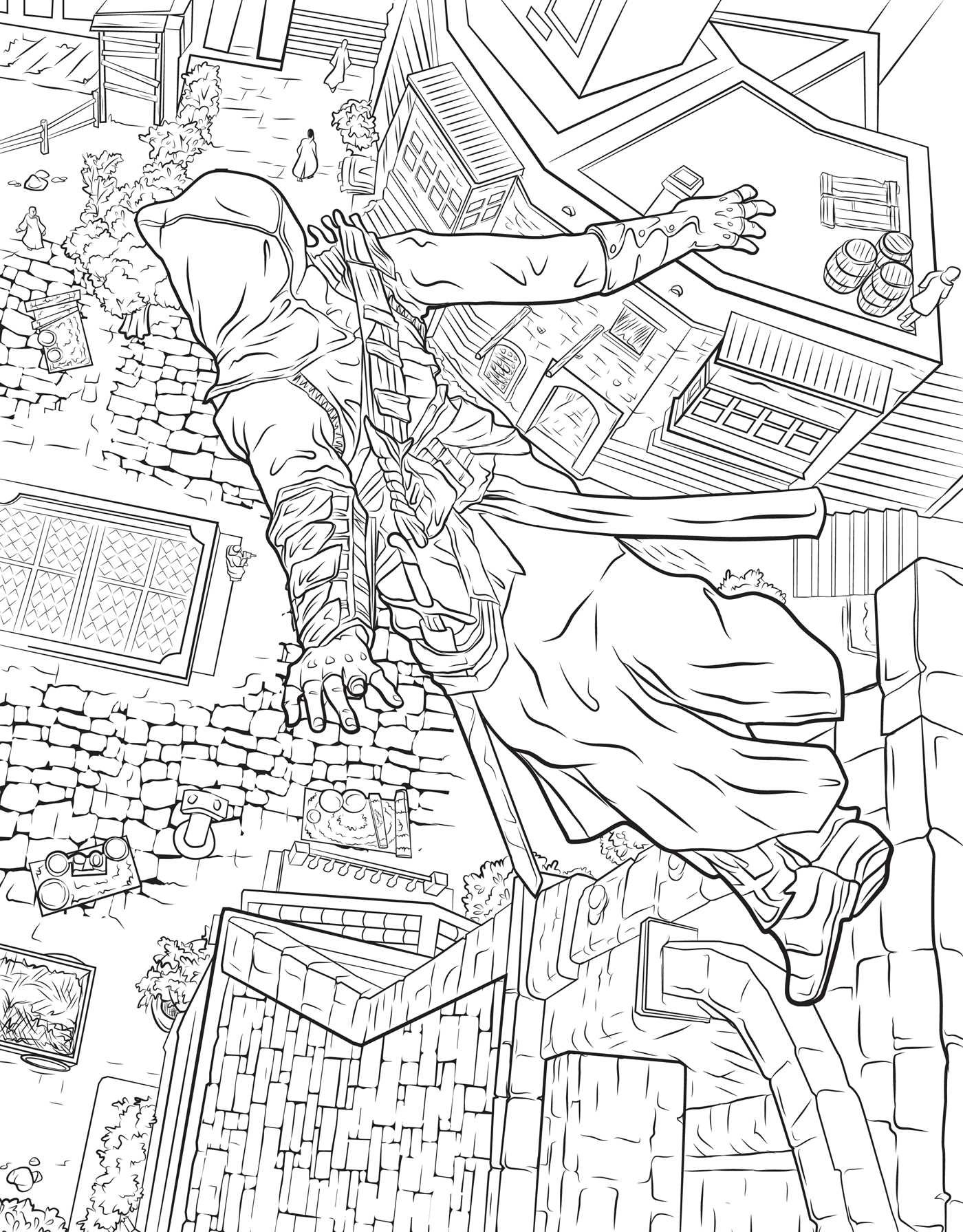 Assassin\'s Creed: The Official Coloring Book: Insight Editions ...