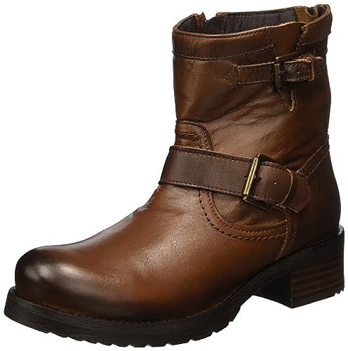 Womens ES 30509l Sauvage Biker Boots Buffalo VNvg5