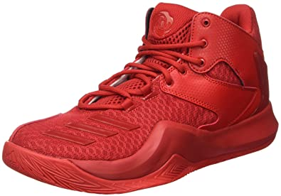 designer fashion 645aa f289a adidas Herren D Rose 773 V Basket, Rosso (ScarleScarleScarle)