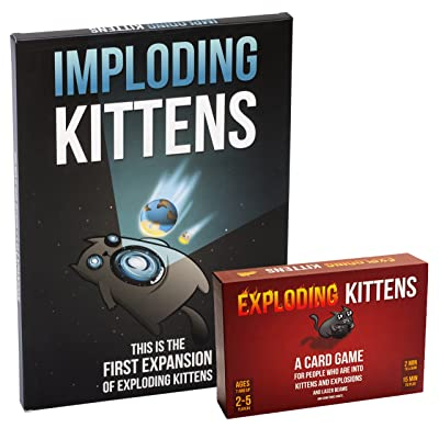 Exploding Kittens - Expansion Bundle: Toys & Games