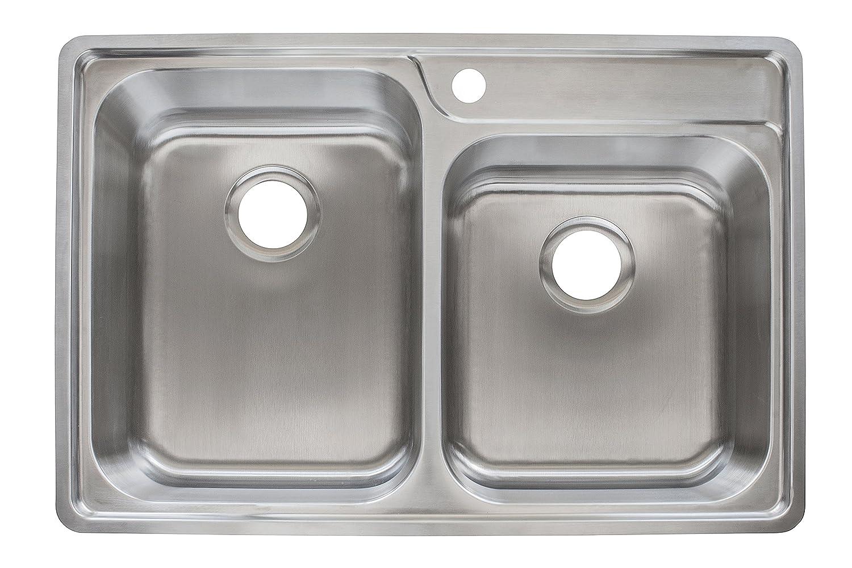 Franke EVCAG901-18 Sink, 18 gallon, Stainless Steel