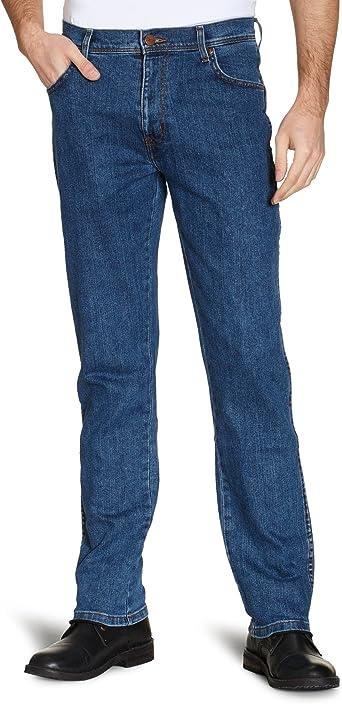 Wrangler Mens Texas Stretch Darkstone Jeans