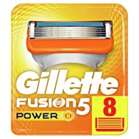 Gillette Fusion5 Power Razor Blades, 8 Refills New