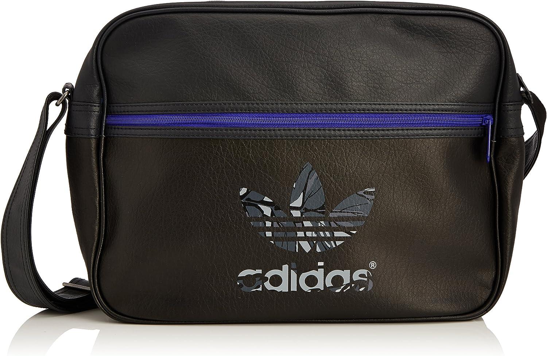 audición legación pasión  adidas Unisex's Airliner Classic Street Bag-Black/Carbon/Night Flash, One  Size: Amazon.co.uk: Sports & Outdoors