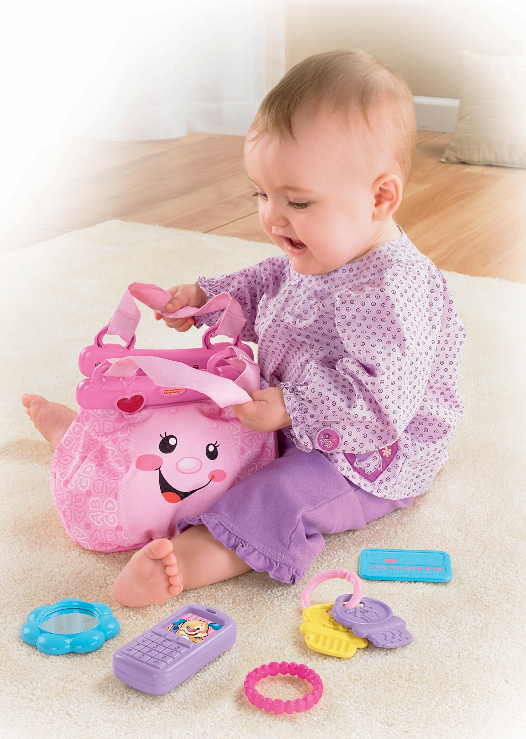 Fisher-Price Laugh & Learn My Pretty Learning Purse by Fisher-Price (Image #6)