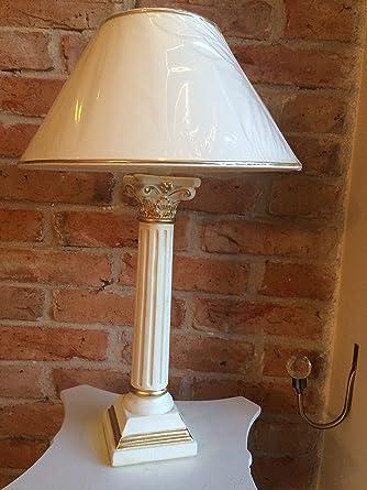 Lámpara de mesa lámpara clásico pantalla de lámpara Lámpara ...