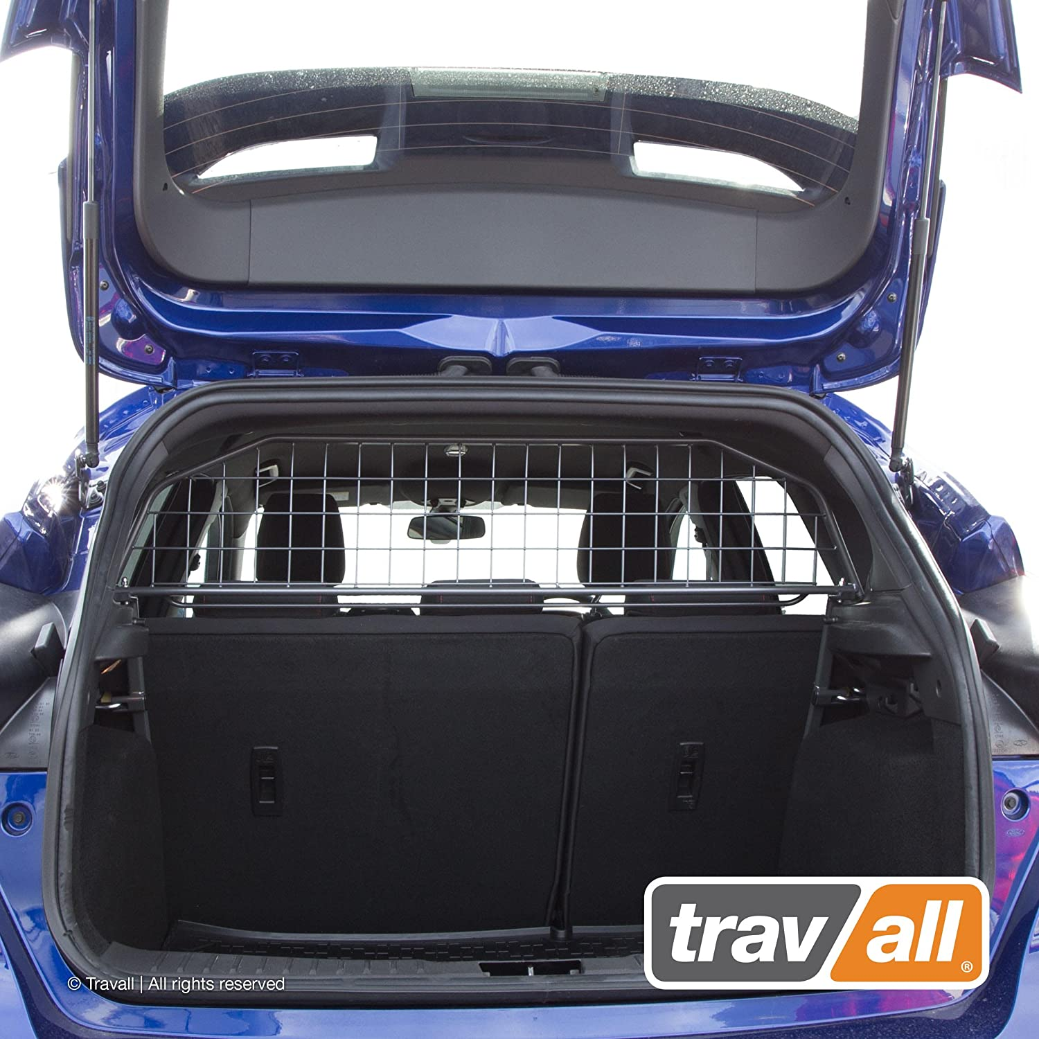 Travall Guard Compatible with Ford Focus 2010-2018 TDG1302 – Rattle-Free Luggage and Pet Barrier