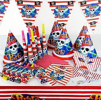 Fiesta de los niños del Pirata Decoración de Picnic Juego ...