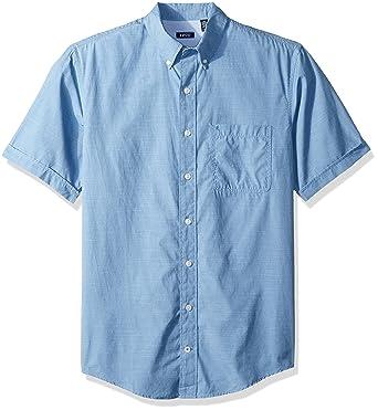 7151b52ac0b Amazon.com  IZOD Men s Breeze Solid Short Sleeve Shirt (Big   Tall ...