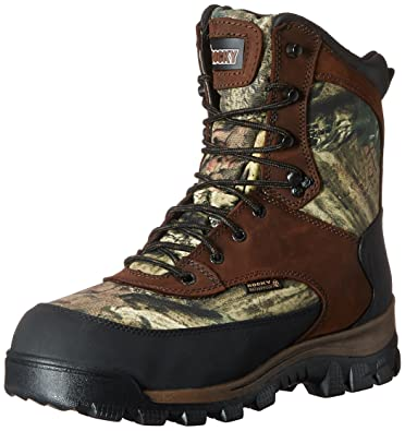 07d7db070 Rocky FQ0004755 Men s CMO 8 quot  OUTDR WIDE 8 Hunting Boots Camo