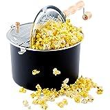 Franklin's Original Whirley Pop Stovetop Popcorn Machine Popper. Delicious & Healthy Movie Theater Popcorn Maker. FREE Organi