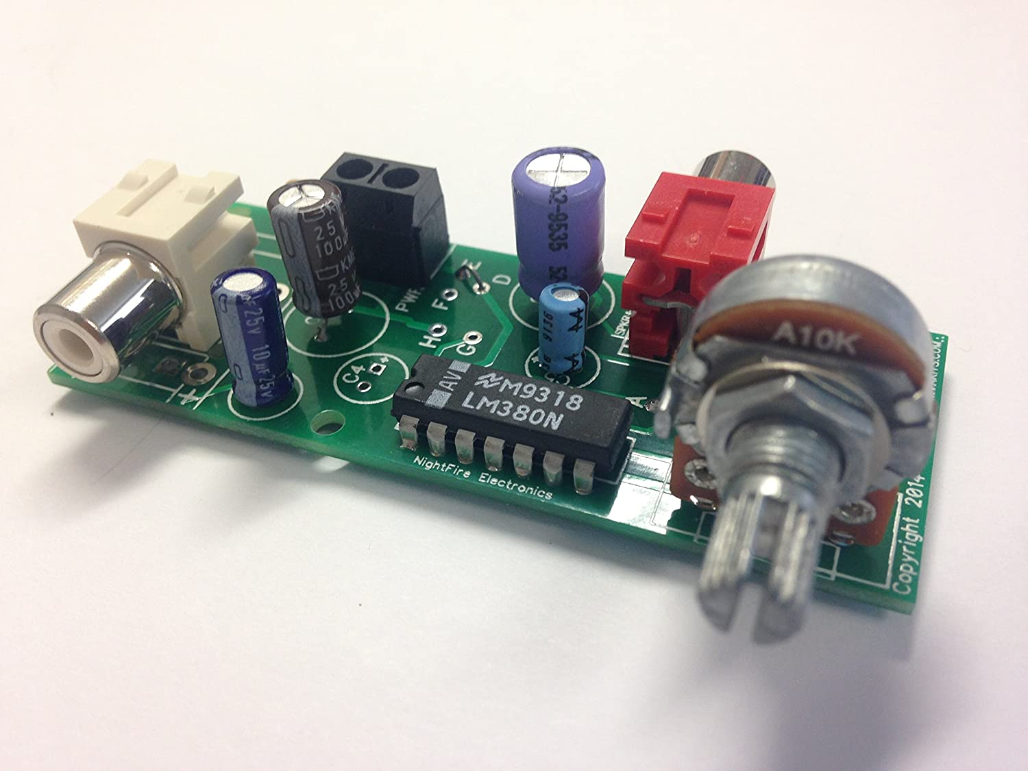 Buy 25 Watt Audio Amplifier Lm380 N 14 Kit 5316 Online At Low Circuit Was Constructed With The Use Of Power Prices In India