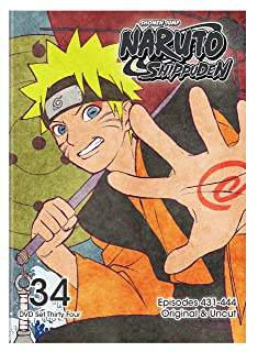 Book Cover: Naruto Shippuden Uncut Set 34