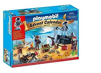 Calendrier De L Avent Playmobil Pas Cher.Playmobil 6625 Calendrier De L Avent Ile Des Pirates