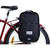 Two Wheel Gear - Pannier Backpack Convertible - 2 in 1 Commuting and Travel Bike Bag