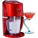 Andrew James Elektrischen Eiscrusher/Slush Maker In Rot, 25 Watts, 1 Liter Kapazität