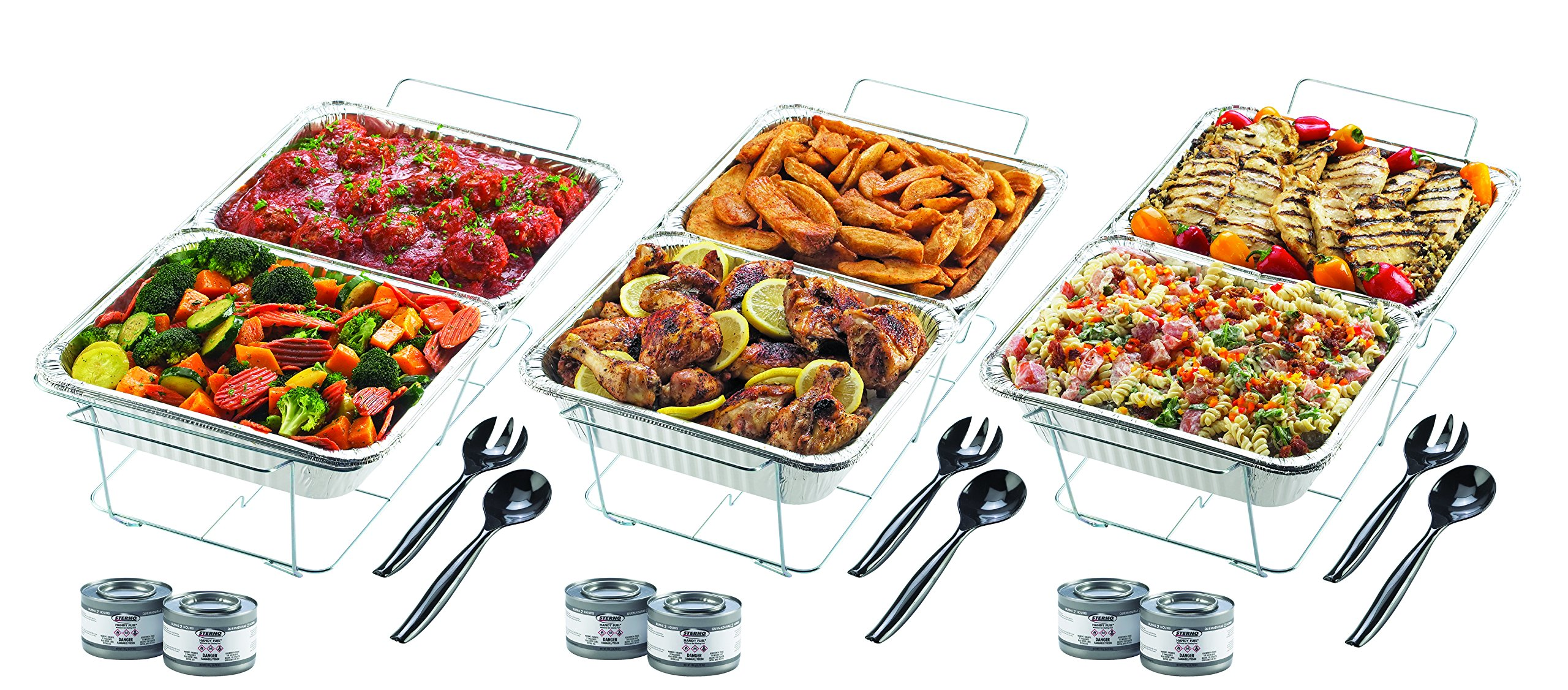 Sterno Products 24-Piece Disposable Party Set by Sterno (Image #2)