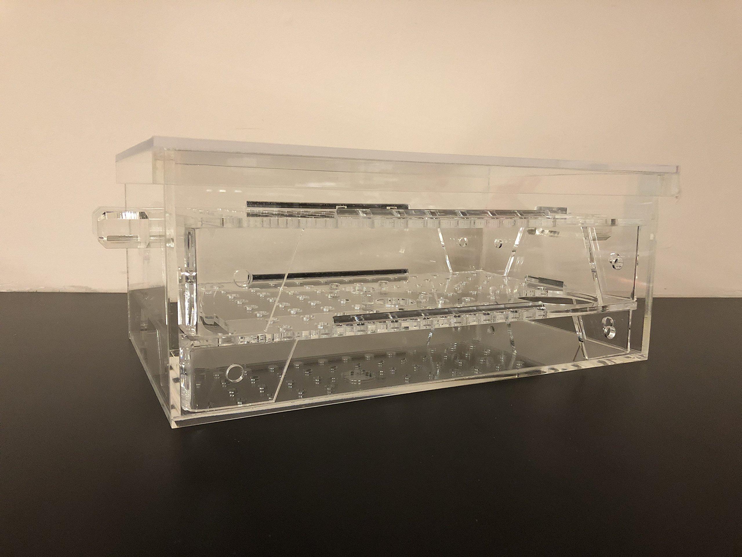 Cigar Humidor Acrylic Clear Custom Box for Cigar Storage and Display