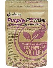 "Save £8!! Hion Purple Powder - SLIMBERRY METABLEND | Winner of""Best Weight Management Supplement"" - Healthy Awards | Vegan, Alkaline and Gluten-Free. Premium Quality Superfood for Weight Management"